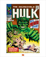 Hulk Art Print 16 x 20 Inches Officially Licensed