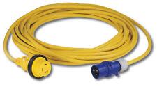 Marinco 15MSPPXP Cable de alimentación 16A 230V 15M con Enchufe Europeo Amarillo