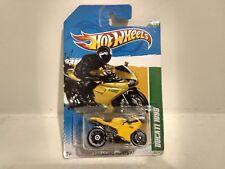 Hot Wheels Treasure Hunt Ducati 1098 Moto Mattel 1:64 Escala de Metal mb835