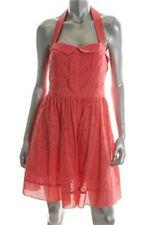 Miss Sixty Coral a Line Casual Day Dress With Pattern Size 12
