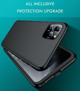iPhone 11 Case 360° Full Cover Shockproof Hard + Screen Protector Tempered Glass
