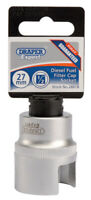 DRAPER Expert Diesel Fuel Filter Cap Socket - 28818