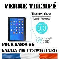 "Vitre Protection Film écran VERRE TREMPE 9H Samsung Galaxy Tab 4 T530/T535 10.1"""