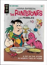 THE FLINTSTONES #40 [1967 FN-VF] GREAT COVER!