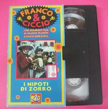 VHS film FRANCO & CICCIO I nipoti di zorro 1995 IL SESTANTE (F67) no dvd