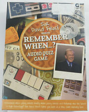 Remember When? Audio Quiz Game Sir David Frost CD New & Sealed Nostalgic Gift
