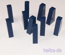LEGO - 10 x Dachstein Schrägstein 75 Grad 2x1x3 dunkelblau / 4460b NEUWARE (e16)