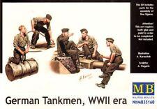 Master Box 1/35 Alemán Tankmen, época Segunda Guerra Mundial # 35160