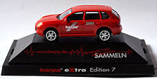 Porsche Cayenne Turbo 2003-07 Extra-Edition 7 rot red 1:87 Herpa