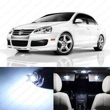9 x Xenon White LED Interior Light Package For 2005 - 2010 VW Jetta MK5