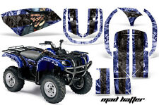 Yamaha Grizzly 660 AMR Racing Graphics Sticker Kit Quad ATV Decals MAD HATTER BB