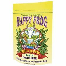 Fox Farm Happy Frog Fruit & Flower 4 lb Pound - organic natural fertilizer