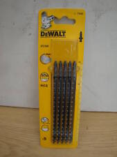 PACK OF 5 DEWALT DT2169 JIGSAW BLADES EXTRA LONG WOOD CUTTING T344D