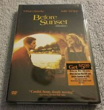 Before Sunset (2004) - Dvd Movie - Drama - Ethan Hawke - Julie Delpy - New