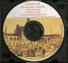 Colonial and Revolutionary Families of Pennsylvania in 4 Volumes - Holiday SALE