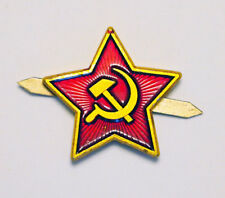 Red Star Hat Pin Badge  Soviet Military Russian Army (lot2)