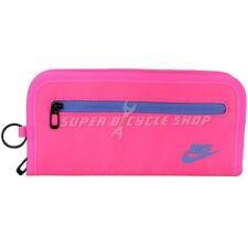 NIKE Women's Heritage Long Bi-Fold With Full Zipper Wallet , Pink