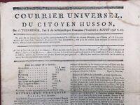 Bataille de Quiberon 1795 Arrestation Cormartin Chouans Vaucluse Var Espagne