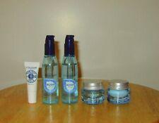 L'Occitane-Shea Lip Balm, Assorted Aqua Reotier Skincare Items & FREE Travel Bag