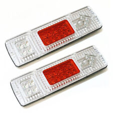 2x12v Mini Led Rear Tail Lights Truck For Iveco Peugeot Ford Vw Renault Mercedes