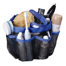 8 Pockets Shower Caddy Mesh Portable Quick Dry Travel Tote Carry Handle Gym Dorm