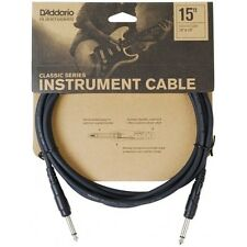 PLANET WAVES PW-CGT-15, 15' CLASSIC SERIES INSTRUMENT CABLE - NEW!