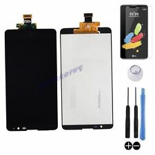 ECRAN LCD + VITRE TACTILE BLOC COMPLET ASSEMBLE POUR LG STYLUS 2 K520 NOIR VERRE
