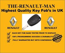 2 Button Remote key fob suitable for Renault Master ready to program 2005-2010