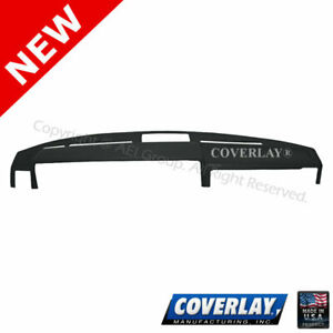 Black Dash Board Cover 15-243LL-BLK For 242 Front Upper -Coverlay