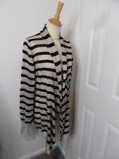 LOVELY LADIES MARCCAIN CARDIGAN SIZE N6 UK 16-18 WATERFALL VGC