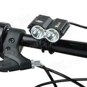 Cree X2 Rechargeable LED Mountain Bike Lights Torch Front Lamp Headlight Carsons