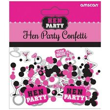 Hen Party Table Confetti Sprinkles Bridal Shower Party table Decorations