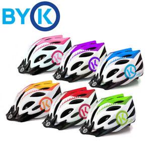 BYK E-50 Kids Bicycle Helmet - 50-55cm - Blue, Red, Pink, Purple, Green, Orange