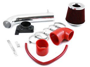 GSP Red Short Ram Air Intake Kit + Filter 00-05 Eclipse 2.4L /3.0L 99-03 Galant