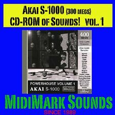 Akai s1000, s-1000, or Comp  Vol. 1 Pwr House CD-Rom