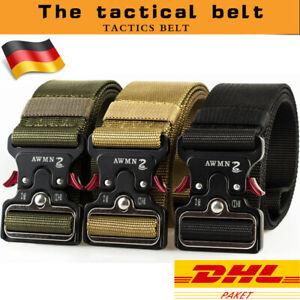 """1.9""""Heavy Duty Schnellverschluss Military Style Shooters Nylon Taktischer Gürtel"""