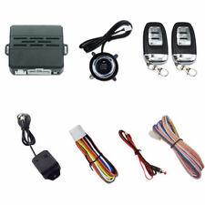 Car Alarm Keyless Entry Ignition Engine Start Push Button Remote Kit DC 12V