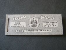 CANADA 1943 BOOKLET? SG? SB42? Excellent condition