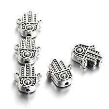 50pcs Random Tibetan Alloy Dragon Metal Beads Carved Tiny Loose Spacers 12x7.5mm