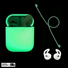 Glow In The Dark Silicone Case Cover For Apple AirPods Protective Skin NightGlow