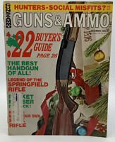 Guns & Ammo December 1968 Magazine Gun Ammunition Vintage 20-1630M