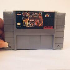 WWF SUPER WRESTLEMANIA Super Nintendo Game SNES Cart Only
