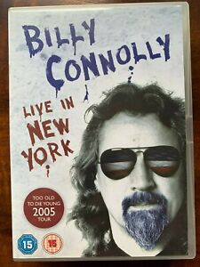 Billy Connolly Live in New York DVD 2005 Stand Up Comedy Concert