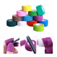 Finger Nail Flex Wrap Skin Protective Art Bandage Roll Care Tape Random Color