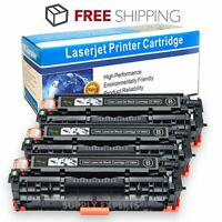 3PK CF380A Laser Black Toner Cartridge For HP 312A Color LaserJet Pro MFP M476nw