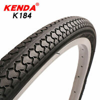 "KENDA Bicycle Tyres 20/24/26/27""*1 3/8 Mountain Road Bike Tire  Tyres Black"