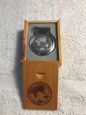 National Geographic Society Travel Alarm Clock—New In Box
