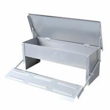 IDS E0027 Galvanized Steel Outdoor Treadle Chicken Feeder - 5kg