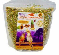 New listing 4lb Pet Bird Food Diet Natural Garden Blend Fruit Seed Nut Medium Parrot