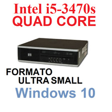 MINI PC HP 8300 ELITE (3KG) INTEL i5-3470S 4 CORE /4GB/320GB WIN 10 PRO